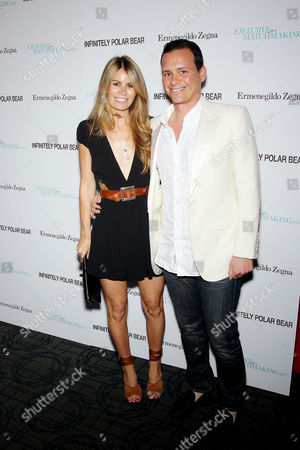 Stock Picture of Benji Kohn (Producer) with Wife