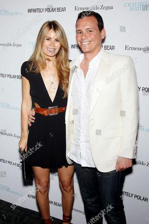 Benji Kohn (Producer) with Wife