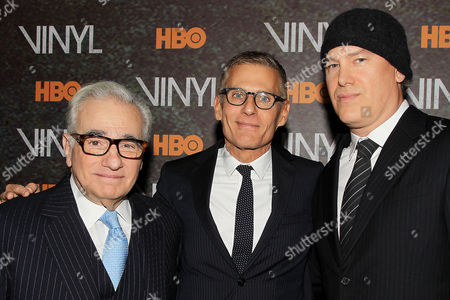 Martin Scorsese, Michael Lombardo, Rick Yorn