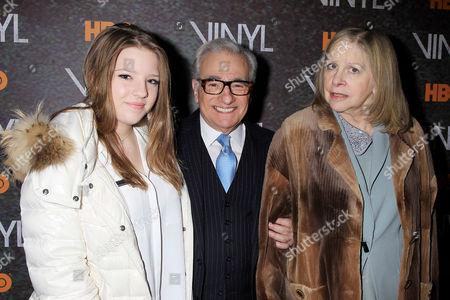 Francesca Scorsese, Martin Scorsese, Helen Scorsese