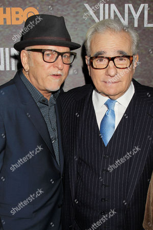 Stock Image of Allen Coulter, Martin Scorsese