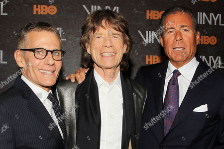 Michael Lombardo, Mick Jagger, Richard Plepler