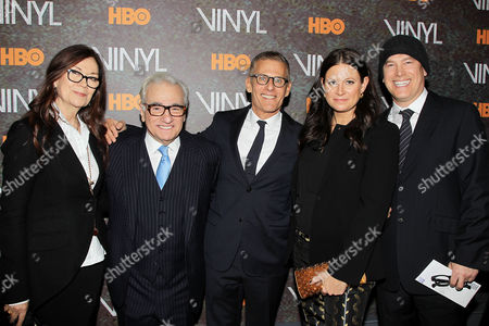 Victoria Pearman, Martin Scorsese, Michael Lombardo, Emma Tillinger Koskoff, Rick Yorn