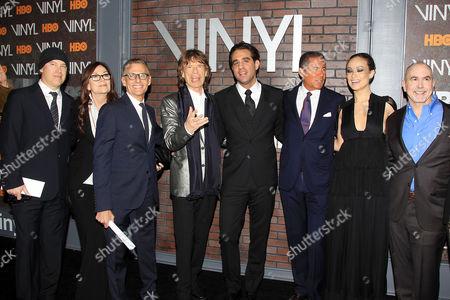 Editorial picture of 'Vinyl' TV series premiere, New York, America - 15 Jan 2016