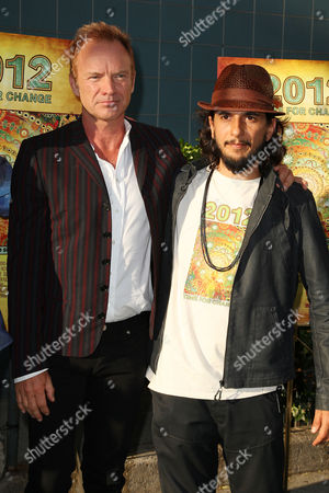 Sting and Joao Amorim (Director)