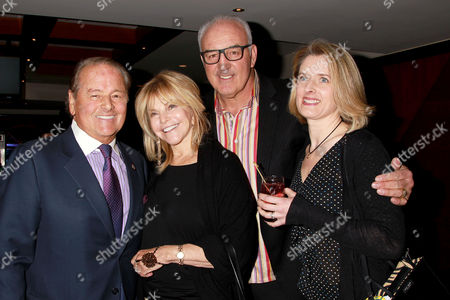 Rod Gilbert and Gerry Cooney with Wives