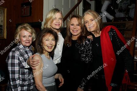 Candice Bergen, Elaine May, Diane Sawyer, Marlo Thomas, Gloria Steinem