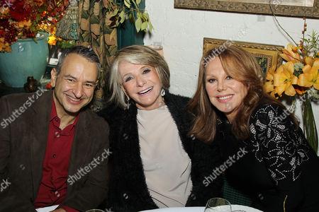 Joe DiPietro, Sheila Nevins, Marlo Thomas