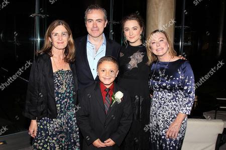 Finola Dwyer, John Crowley, James DiGiacomo, Saoirse Ronan and Nancy Utley