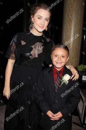 Saoirse Ronan and James DiGiacomo