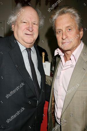 Bobby Zarem  and Michael Douglas