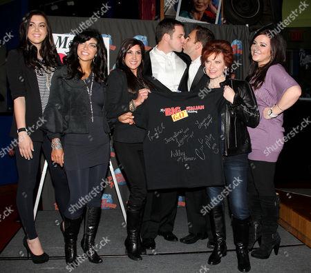 Ashley Holmes, Teresa Giudice, Jacqueline Laurita, Daniel Robinson, Anthony Wilkinson, Caroline Manzo and Lauren Manzo