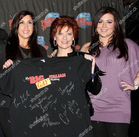 Jacqueline Laurita, Caroline Manzo and Lauren Manzo