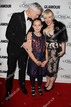 Baz Luhrmann, Lillian Amanda Luhrmann and Catherine Martin