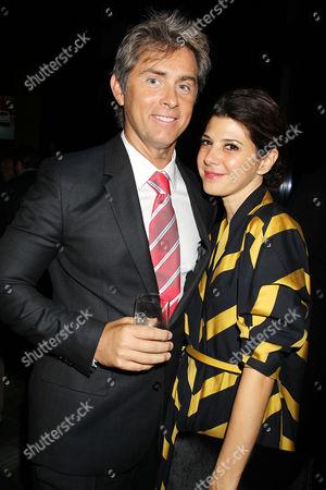 John Gatins and Marisa Tomei