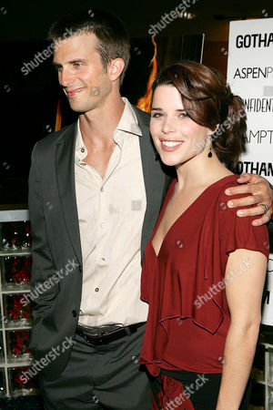 Fred Weller with Neve Campbell