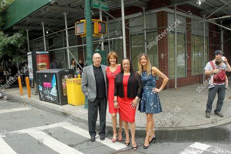 Dann Florek, Carolyn McCormick, S. Epatha Merkerson and Jill Hennessy