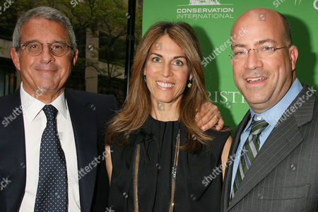 Ron Meyer, Caryn Zucker and Jeff Zucker