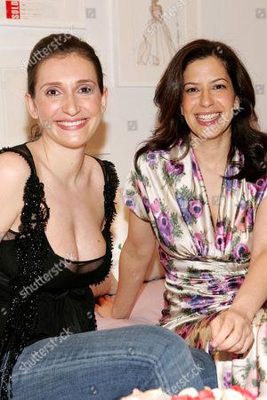 Delphine Krakoff (Designer) and Deborah Needleman (Editor in Chief)