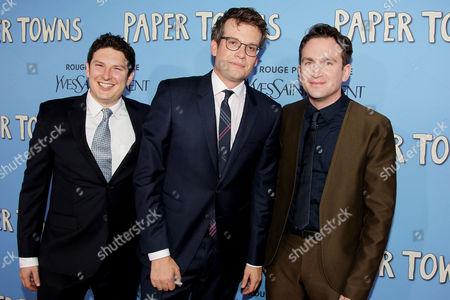 Isaac Klausner (Exc. Producer), John Green (Author), Jake Schreier (Director)