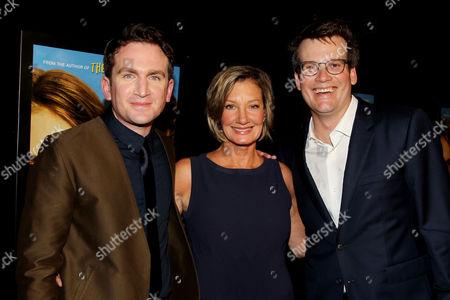 Jake Schreier (Director), Elizabeth Gabler (Pres. Fox 2000), John Green (Author)