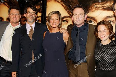 Marty Bowen, Wyck Godfrey, Elizabeth Gabler (Pres. Fox 2000), Jake Schreier, Erin Siminoff