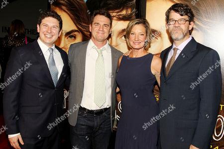 Marty Bowen, Isaac Klausner, Elizabeth Gabler (Pres. Fox 2000), Wyck Godfrey (Producers)