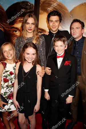 Cast with Jake Schreier (Director)