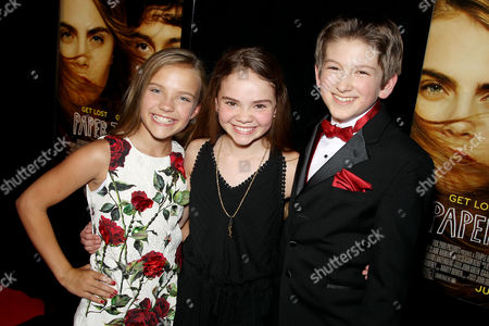 Meg Crosbie, Hannah Alligood, Josiah Cerio