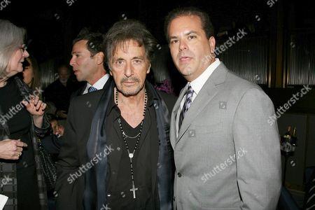 Al Pacino and Adam Mazer (Writer)