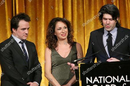 Neal Dodson, Anna Gerb and J C Chandor