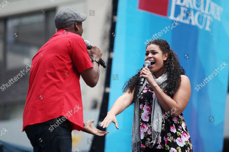 Clifton Oliver and Jordin Sparks (In the Heights)