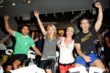 Stock Image of Mark Consuelos, Kelly Ripa and Laurie Cole