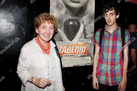 Julia Sheehan and son Neil Wilkinson Morris