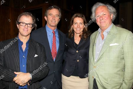 Bill Haney, Robert F Kennedy Jr, Clara Bingham and Graydon Carter