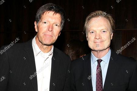 Stone Phillips and Pat Kiernan