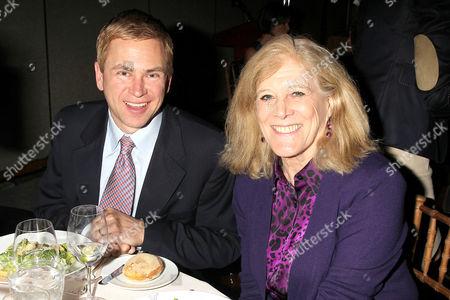 Pat Kiernan and Lynn Sherr