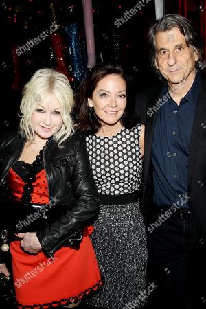 Cyndi Lauper, Margaret Russell, David Rockwell