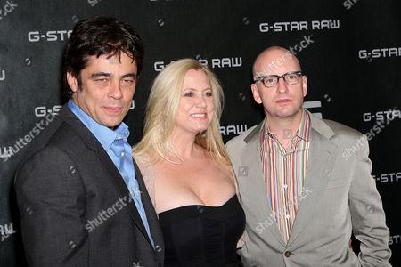 Laura Bickford, Benicio del Toro, Steven Soderbergh (Director)