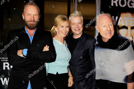 Stock Picture of Sting, Trudie Styler, Chris Botti and Bobby Sager