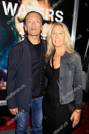 G. E. Smith and Taylor Barton Smith (wife)