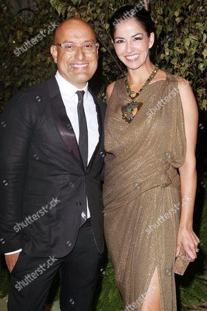 Angel Sanchez and Dayssi Olarte de Kanavos