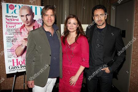 Christian McLaughlin, Galina Espinoza and Demian Bich