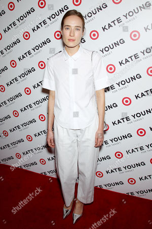 Editorial picture of Kate Young for Target launch, New York, America - 09 Apr 2013