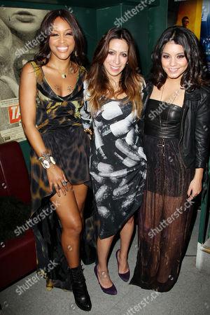 Eve, Leila Shams and Vanessa Hudgens