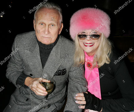 Stock Photo of Jerome Hellman with Sylvia Miles