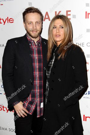 Ariel Foxman and Jennifer Aniston