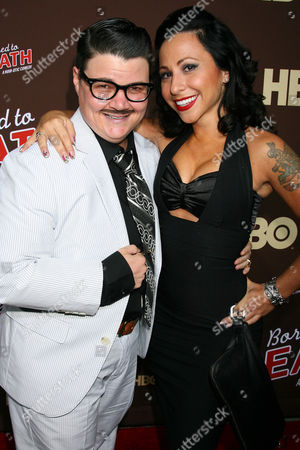 Stock Picture of Murray Hill and Angie Pontani