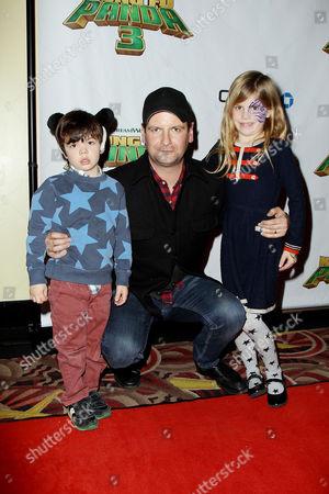 Luke Parker Bowles with children