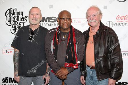 Stock Image of Gregg Allman, Jai Johanny Johanson and Butch Trucks (The Allman Brothers Band)